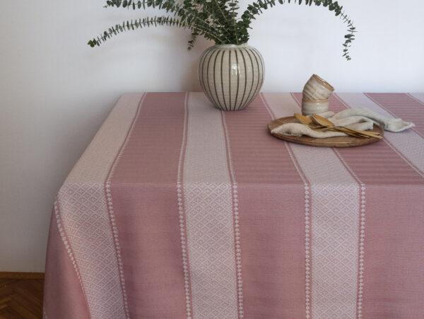 Stolnjak jasmin roza